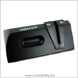 Cookability Sabatier Tungsten Sharpener. Original product image, © Cookability