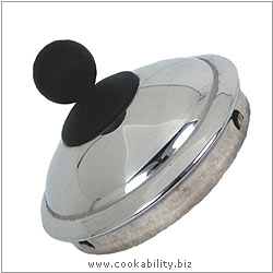 Cookability Aga Kettle Replacement Lid. Original product image, © Cookability