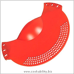 Duromatic Accessories Pan Drainer. Original product image, © Cookability