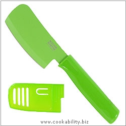 Colori 1 Green Mini Cleaver Prep Knife. Original product image, © Cookability
