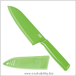 Colori 1 Chefs Knife Green. Original product image, © Cookability