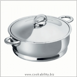 Durotherm Inox Braising Pan. Derived work from original images, © Kuhn Rikon (UK) Ltd, used with permission.