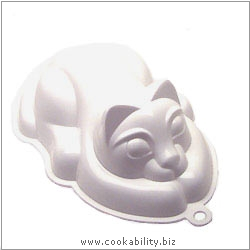 Kitchencraft Cat Jelly Mould. Original product image, © Cookability