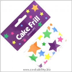 Cookability Cake Frill Superstars. Original product image, © Cookability