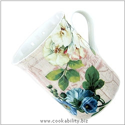 Cookability Beautiful Garden Mug. Original product image, © Cookability