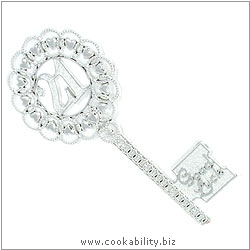 Cookability 21 Good Luck Key. Original product image, © Cookability