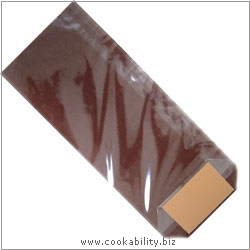 Cookability Cello Bags Chocolate. Original product image, © Cookability