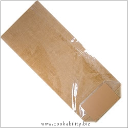 Cookability Cello Bags Caramel. Original product image, © Cookability