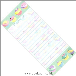 Cookability Magnetic Shopping List. Original product image, © Cookability