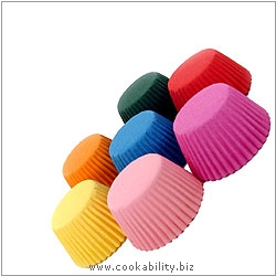 Easybake Multi Coloured Mini Muffin Cases. Original product image, © Cookability
