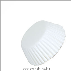 Easybake Plain Bun Cases. Original product image, © Cookability