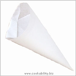 Easybake Greaseproof Piping Bags. Original product image, © Cookability