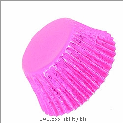 Foilcraft Pink Muffin Cases. Original product image, © Cookability