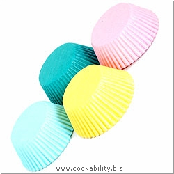 Easybake Pastel Bun Cases. Original product image, © Cookability