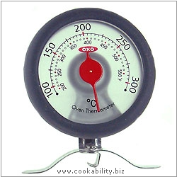 Good Grips Oven Thermometer. Original product image, © Cookability