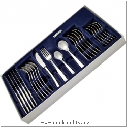 Judge Durham Cutlery Set. Derived work from original images, © Horwood Homewares Ltd, used with permission.