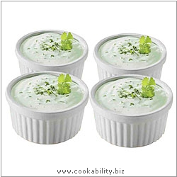 Gourmet Kitchen Collection Ramekin Set. Derived work from original images, © Rayware Ltd, used with permission.