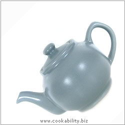 Brights Teapot  Grey. Original product image, © Cookability