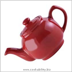 Price and Kensington Red Teapot. Derived work from original images, © Rayware Ltd, used with permission.