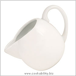 Simplicity Creamer - Milk Jug. Derived work from original images, © Rayware Ltd, used with permission.