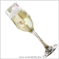 Tulip Sparking Wine Flutes. Derived work from original images, © Rayware Ltd, used with permission.
