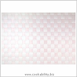 Woven Tablemat Pink 22mm weave.. Original product image, © Cookability