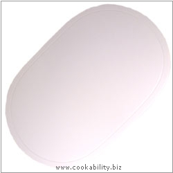 Peking Tablemat Vinyl White. Original product image, © Cookability