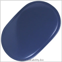 Peking Tablemat Vinyl Colbalt. Original product image, © Cookability
