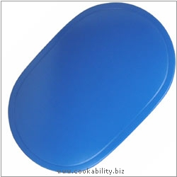 Peking Tablemat Vinyl Marine Blue. Original product image, © Cookability