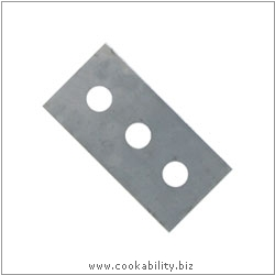 Cookability Replacement Scraper Blades. Original product image, © Cookability