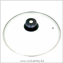 Parts Glass lid for Safepan. Original product image, © Cookability