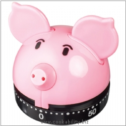 Timer Pig Timer. Derived work from original images, © Horwood Homewares Ltd, used with permission.
