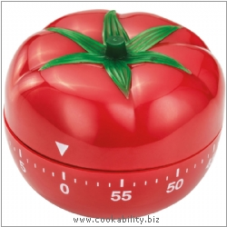 Timer Tomato Timer. Derived work from original images, © Horwood Homewares Ltd, used with permission.