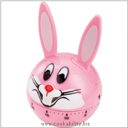 Timer Bunny Timer. Derived work from original images, © Horwood Homewares Ltd, used with permission.