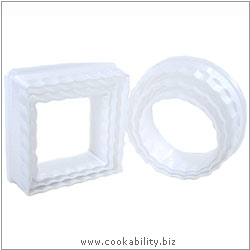 Cookability Pastry Cutter Set. Original product image, © Cookability