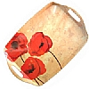 Cookability Poppies Romance Melamine Tray