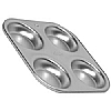 Silver Anodised Yorkshire Pudding Tray