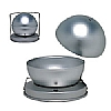 Silver Anodised Spherical Mould