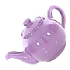 Brights Teapot  Purple