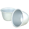 Silver Anodised Mini Pudding Basin