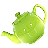 Queens Stanley Teapot  Lime Green
