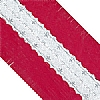 Cookability Foil Cake Frill Red with Silver Band