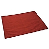 Dupion Placemats Red set of Two