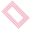 Cookability Jam Pot Labels Self Adhesive Pink Gingham
