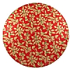 Cookability Christmas Cake Board Red