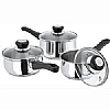 This category contains: Daily Cookware Set 16,18,20cm, Studio 3 Piece Set, Judge Basics Pan Set,