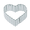 Kitchencraft Fluted Heart Cutter