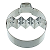 Kitchencraft Xmas Bobble Cookie Cutter