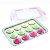 Sweetly Does It Cupcake Tray with Lid