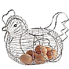 Kitchencraft Wire Chicken Egg Basket